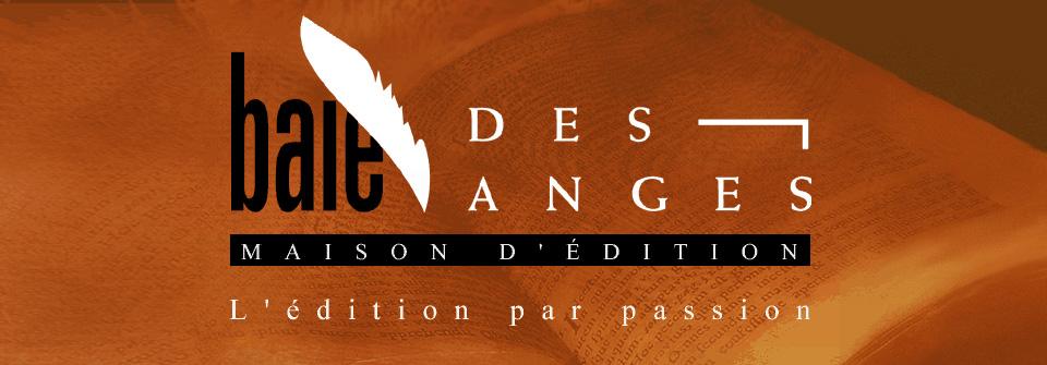 Logo de Baie des Anges éditions, partenaire du Chat Rose.