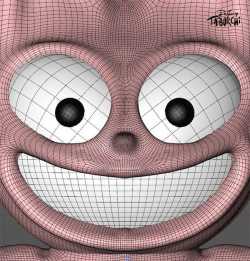 Le Chat Rose en 3D par le studio créatif Media 377 (www.media377.com)
